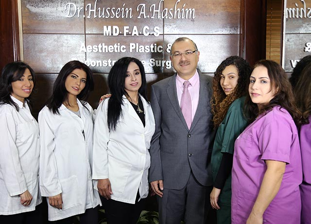 Team of Dr Hussein Hashim clinic